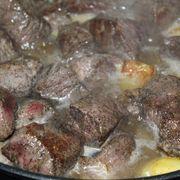 Жаркое из говядины с лесными грибами#россия – пошаговый рецепт с фотографиями