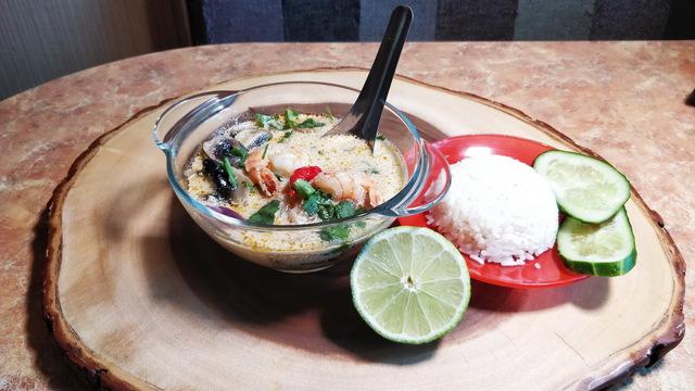 Том кха кунг (тайская кухня) – пошаговый рецепт с фотографиями