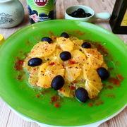 Салат с маслинами и апельсинами. – пошаговый рецепт с фотографиями