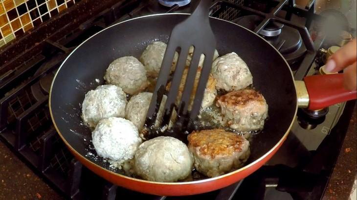 Мясные тефтели в сырно-сливочном соусе – пошаговый рецепт с фотографиями