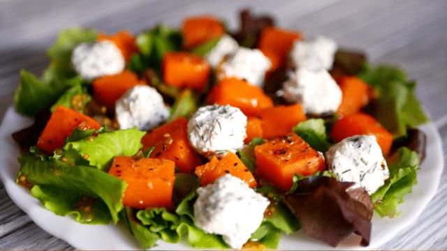 Салат с тыквой – пошаговый рецепт с фотографиями