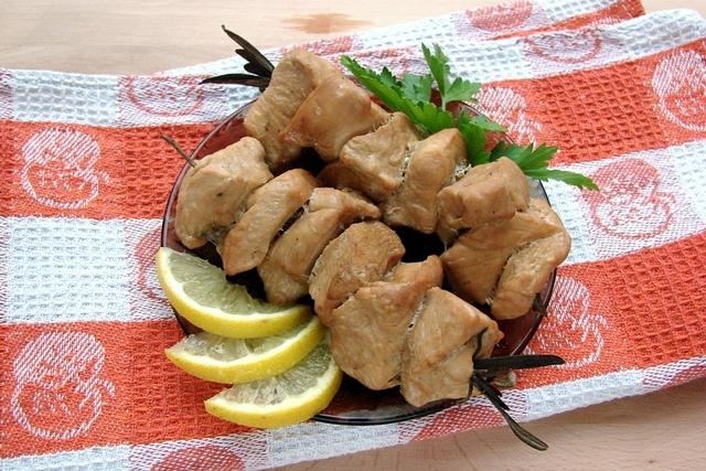 Куриные шашлычки на шпажках из розмарина – пошаговый рецепт с фотографиями