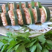 Шашлычки из кабачка и фарша на шпажках – пошаговый рецепт с фотографиями