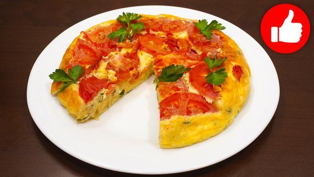 Омлет с макаронами – пошаговый рецепт с фотографиями