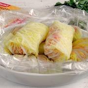 Голубцы из савойской капусты с индейкой – пошаговый рецепт с фотографиями