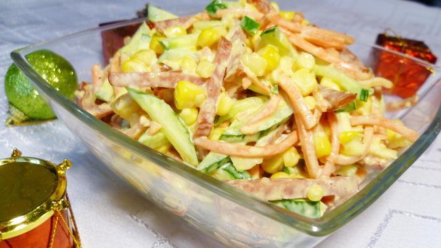Салат серпантин – пошаговый рецепт с фотографиями