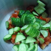 Тёплый салат с кальмарами и миндальными лепестками. – пошаговый рецепт с фотографиями