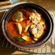 Оджахури с курицей и кабачком на кеци. – пошаговый рецепт с фотографиями
