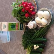Окрошка весенняя – пошаговый рецепт с фотографиями