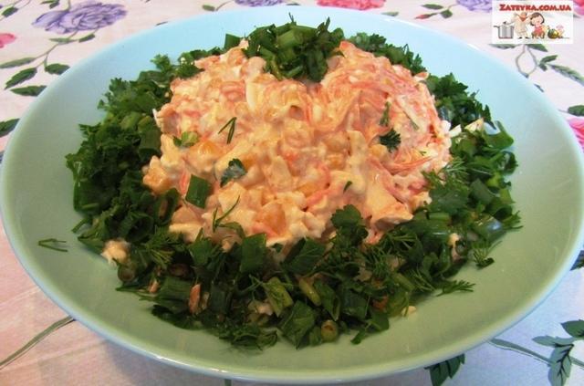 Салат с копченым сыром «косичка» и морковью по-корейски – пошаговый рецепт с фотографиями
