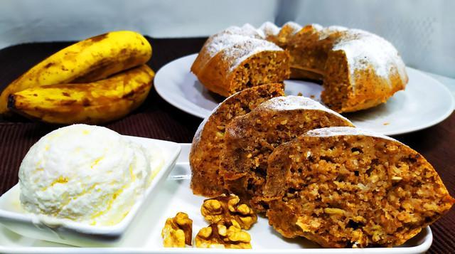 Банановый кекс  – пошаговый рецепт с фотографиями