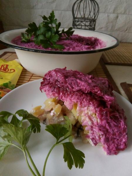 Салат селедка под шубой – пошаговый рецепт с фотографиями