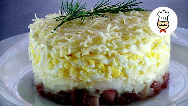 Новогодний салат селедка под снегом – пошаговый рецепт с фотографиями