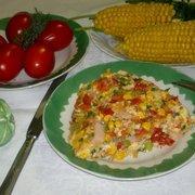 Омлет с овощами и ветчиной#россия – пошаговый рецепт с фотографиями