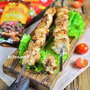 Куриный шашлык горчичный с кунжутом #махеевънаприроде – пошаговый рецепт с фотографиями