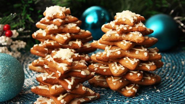 Елочки из имбирного печенья на новый год – пошаговый рецепт с фотографиями
