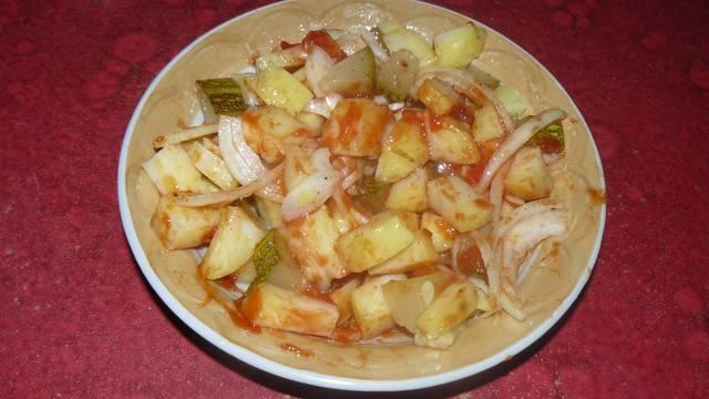 Закусочный салат с огурцами – пошаговый рецепт с фотографиями