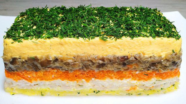 Новогодний салат королевский на новый год 2020 – пошаговый рецепт с фотографиями