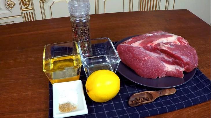 Свиная шейка в медово-лимонном маринаде – пошаговый рецепт с фотографиями