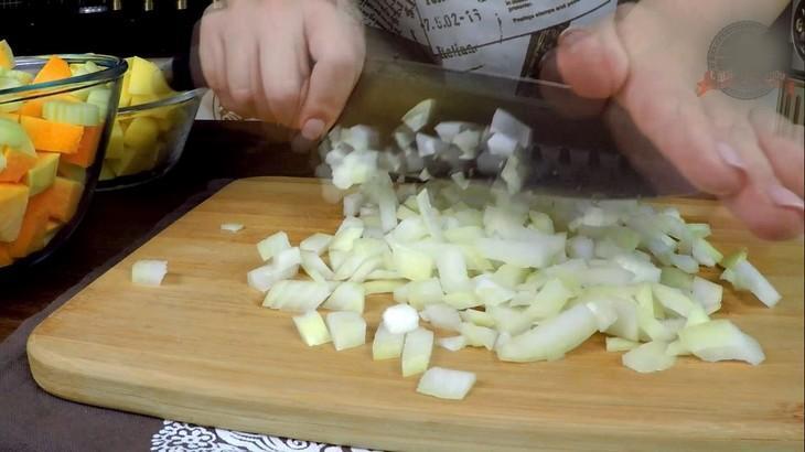 Тыквенный  суп-пюре  с крекером – пошаговый рецепт с фотографиями