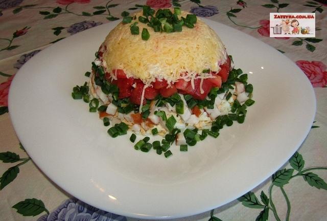 Салат «минутка» – пошаговый рецепт с фотографиями