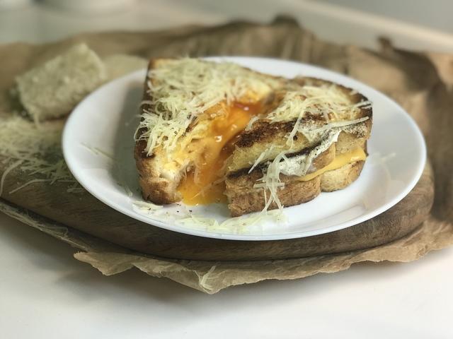 Сырный сэндвич с яйцом – пошаговый рецепт с фотографиями