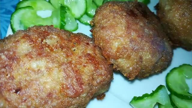 Бюджетные котлеты из куриных желудков  – пошаговый рецепт с фотографиями
