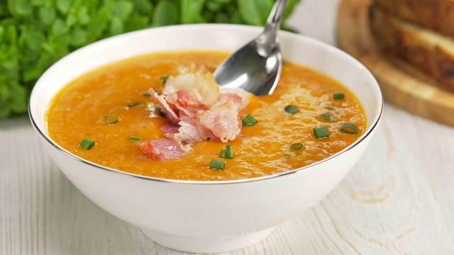 Суп из красной чечевицы с беконом – пошаговый рецепт с фотографиями
