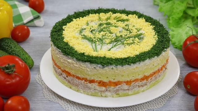 Слоёный салат мимоза с сыром и тунцом – пошаговый рецепт с фотографиями