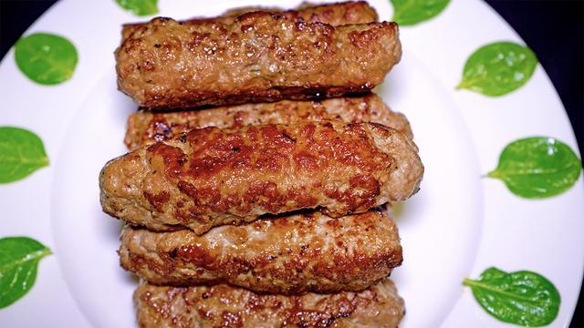 Домашние колбаски из фарша без оболочки – пошаговый рецепт с фотографиями