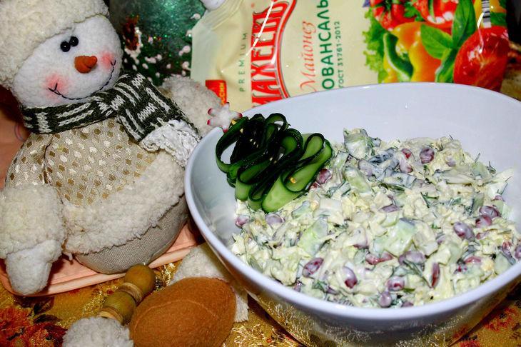 Салат шёпот праздника #махеевъ_чудеса_за_полчаса – пошаговый рецепт с фотографиями
