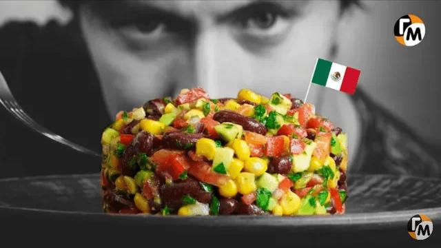 Мексиканский салат. – пошаговый рецепт с фотографиями
