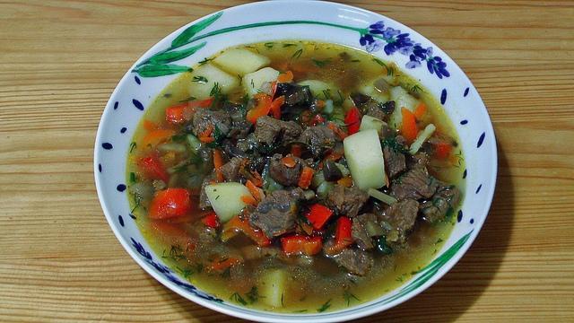 Венгерский суп-гуляш из говядины и грибами – пошаговый рецепт с фотографиями