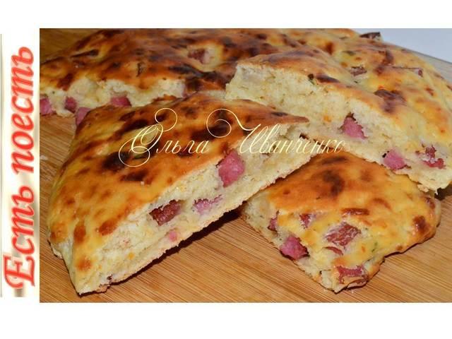 Лепешки а -ля пицца  – пошаговый рецепт с фотографиями
