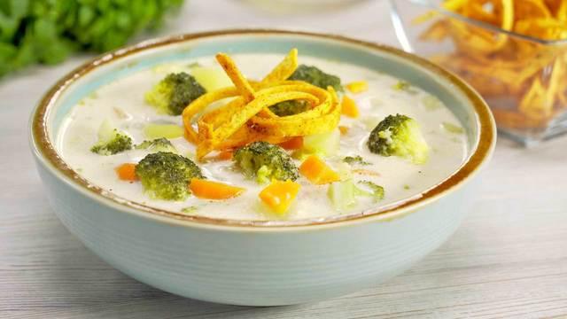 Сырный суп с овощами – пошаговый рецепт с фотографиями