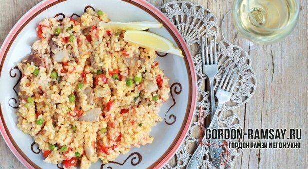 Кантонский жареный рис - легендарный рецепт от Гордона Рамзи