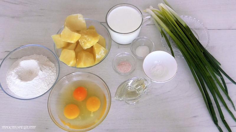 Картофельные Блины с Припёком!Рецепт с фото и видео
