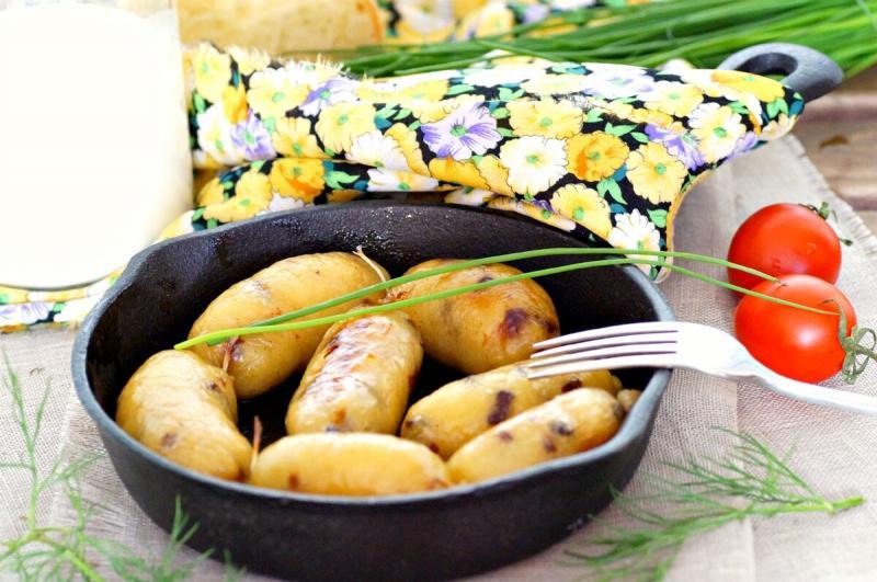 Картофельные колбаски. Вы только попробуйте.