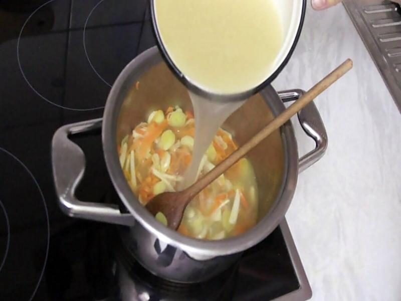 Очень вкусный суп.