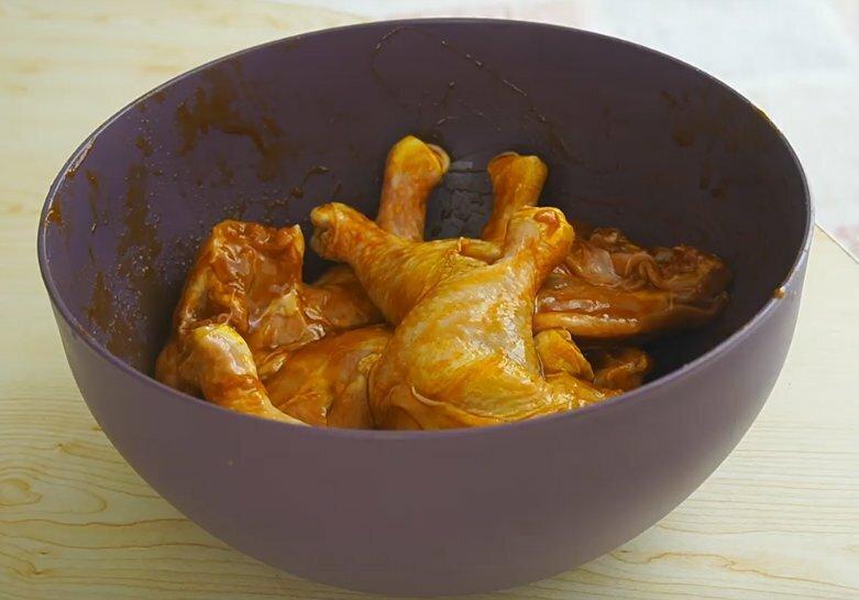 Рецепт нежной и хрустящей курицы