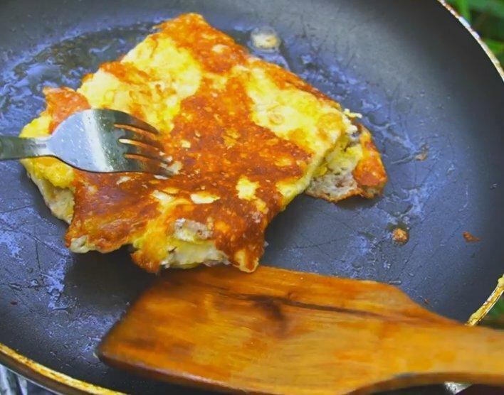 Рецепт оригинального завтрака с яйцом за 5 минут