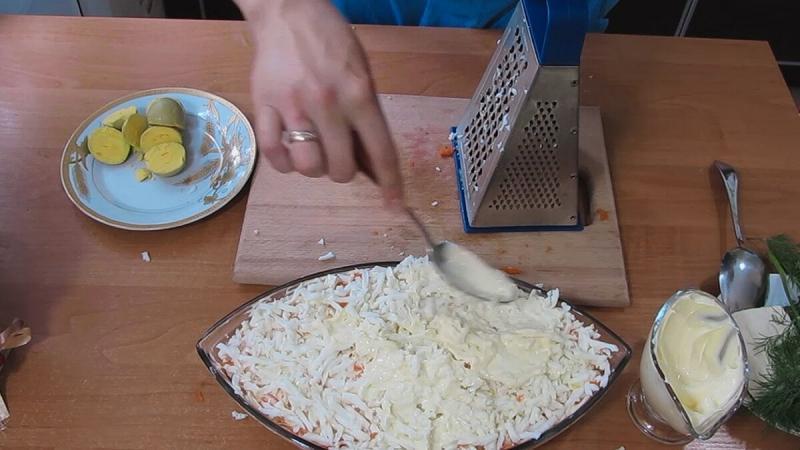 Самый популярный классический салат МИМОЗА