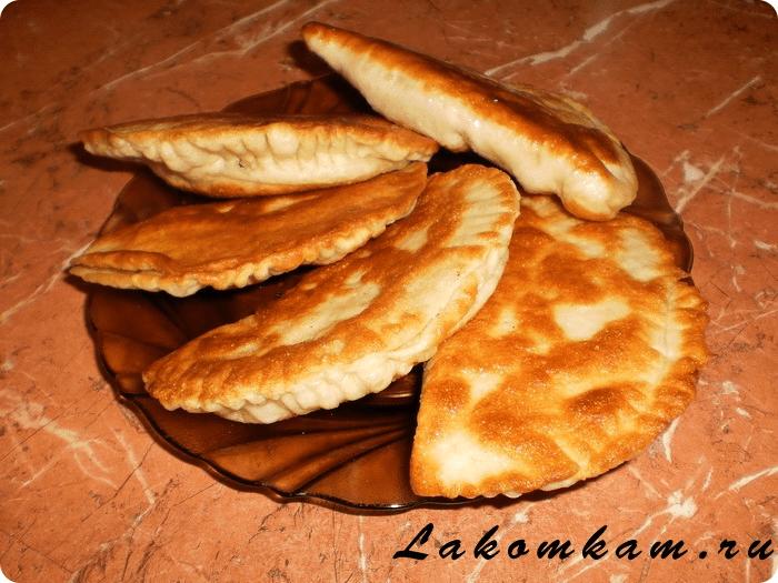 Турецкие лепешки с мясом и картошкой