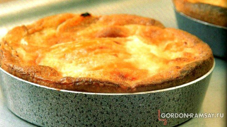 Вишневый клафути - рецепт от Гордона Рамзи.