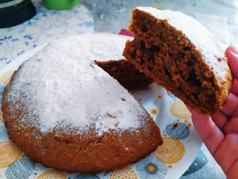 Беру 1 морковь, 2 яйца и ложку какао: рецепт вкусного пирога к чаю