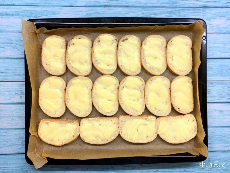 Бомбические бутерброды в духовке