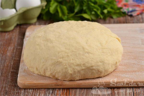 Быстрое тесто для жареных пирожков и лепешек