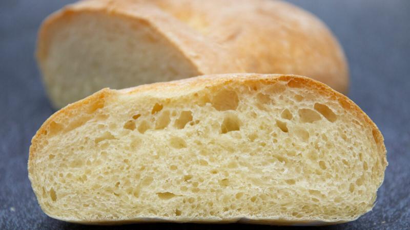 Быстрый хлеб без закваски. Простой рецепт чиабатты.