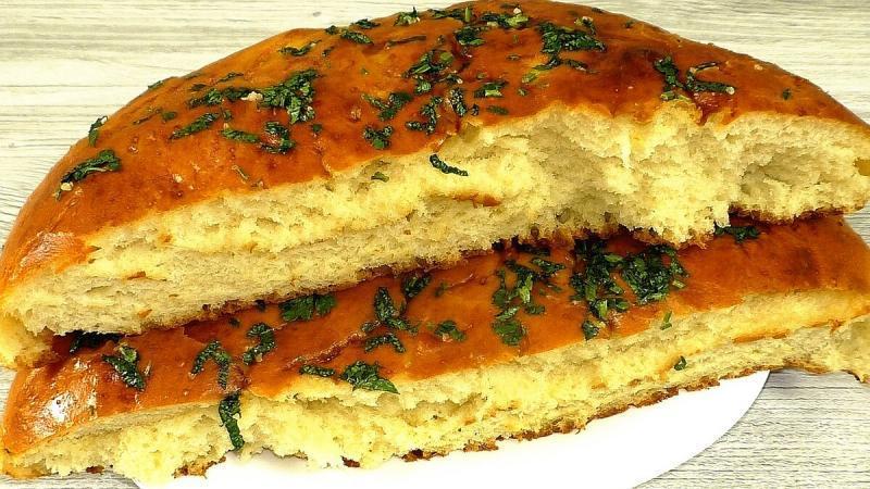 Готовлю вместо хлеба лепёшки (без молока и яиц)