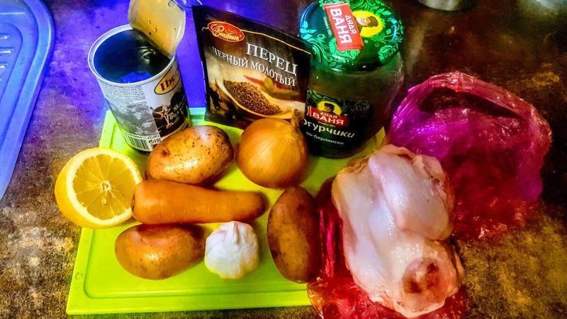 Как я готовлю простую солянку на курином бульоне. Вкусно